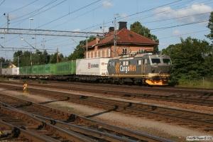 CN El16.2203 med GT 42631. Boxholm 26.08.2011.