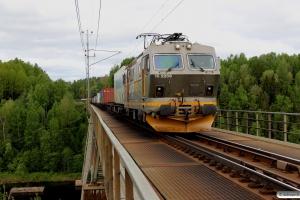 CN El16.2206 med GT 41956. Forsmo - Selsjön 09.06.2015.
