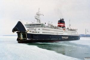 Dronning Ingrid. Nyborg 14.02.1996.