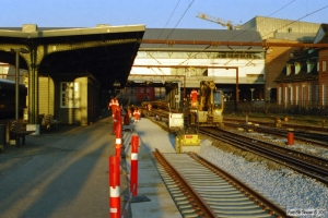Sporombygning spor 3. Odense 27.03.2007.