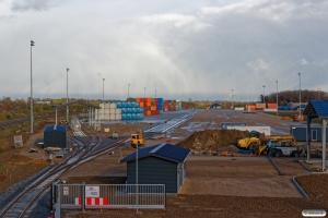 Fredericia Shippings terminal. Taulov 25.04.2017.