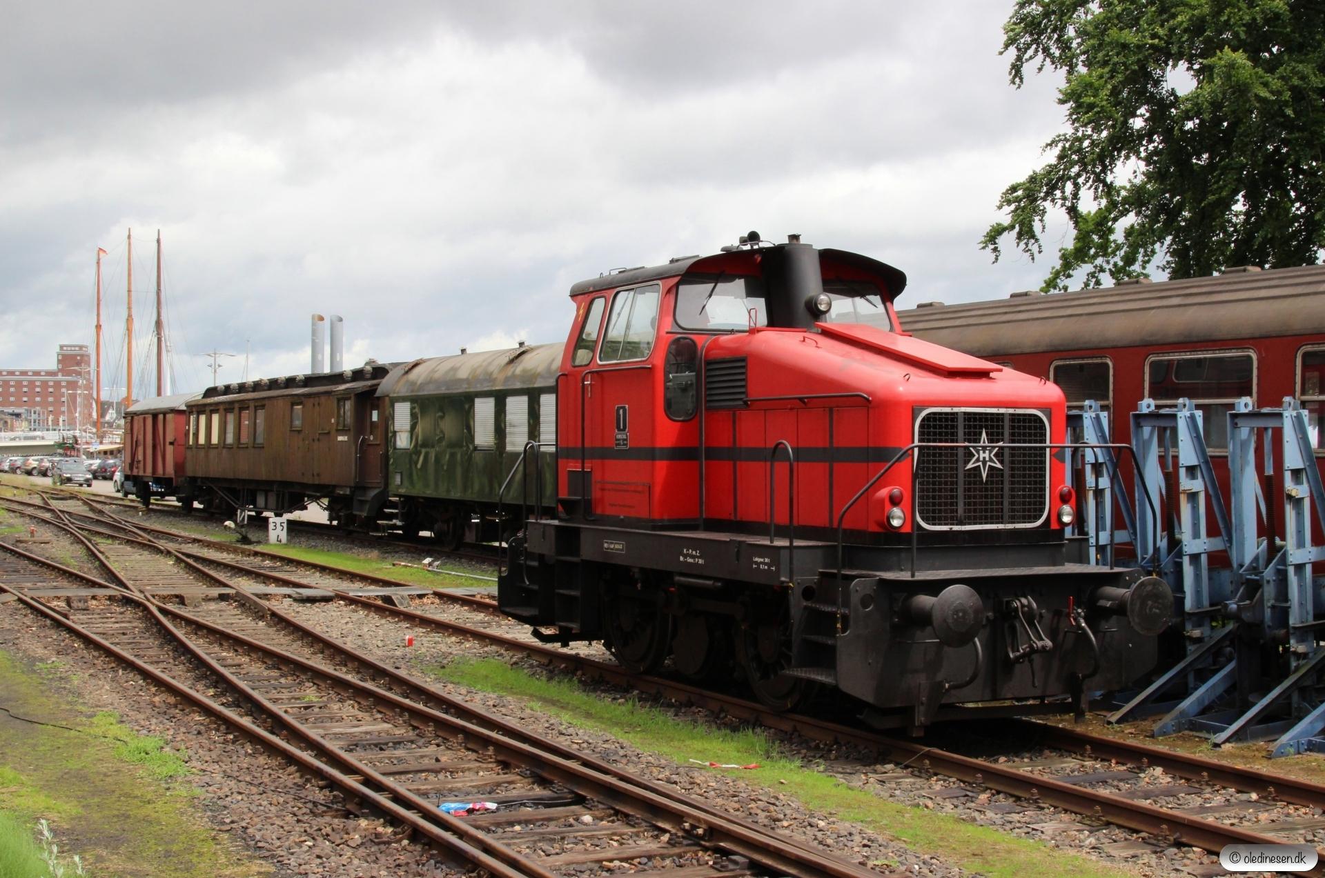 AB 1 (Henschel 1959/29776). Kappeln 02.07.2017.