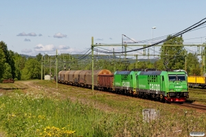GC Re 1427+Re 1423 med GT 9118. Långsele 14.06.2017.