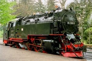 DR 99 7222-5. Drei Annen Hohne 18.05.1991.