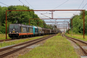 HCTOR 241.004+241.012+NRAIL 245 204-3 med HG 45685 Mgb-Pa. Kauslunde 30.08.2015.