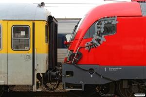 DB Dienstüm313 63 80 99-92 007-3 og DB 182 506. Fredericia 13.03.2016.