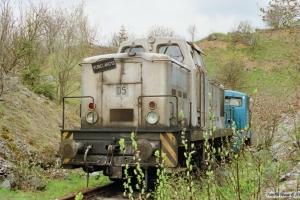 Rübenland D 5 og VEB Bergbau und Hüttenkombinat Lok ?. Elbingerode 18.05.1991.