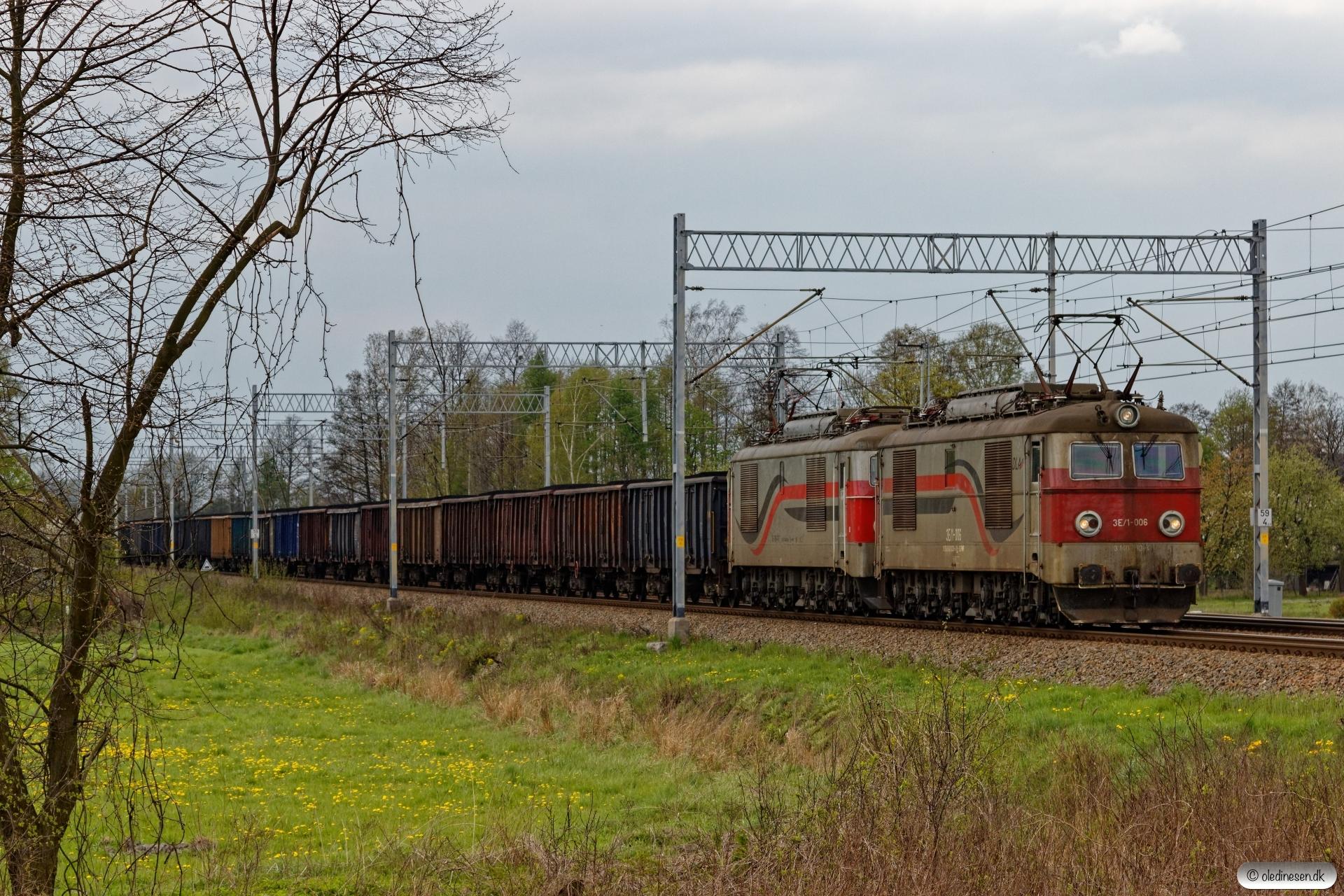 ASPWR 3E/1-006+3E-100-117+41 Eaos. Chybie - Bronów 23.04.2019 kl. 13.57.