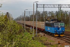 ČDC 163 021-9+Sggrrs vogne (læsset med Innofreigt containere). Chybie 23.04.2019 kl. 14.38.