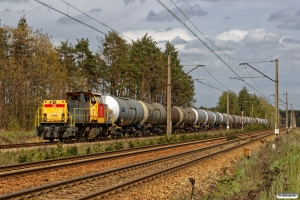 DBSRP DE6400-6445+20 tankvogne. Kamień 24.04.2019 kl. 13.34½.
