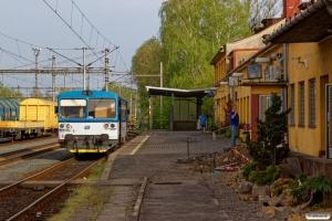 ČD 810 479-6 som Os 3038. Petrovice u Karviné (Tjekkiet) 26.04.2019 kl. 17.24.
