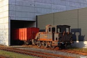 DSB F 668 og KS Q 3 hensat. Taulov 15.11.2015.