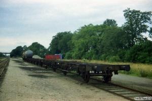Seks kommende KK-vogne. Marslev 14.08.1987.
