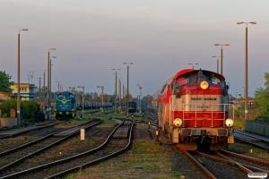 PREG SU42-522 med R 80431 og PKPC SM42-1067. Kostrzyn 11.05.2017.