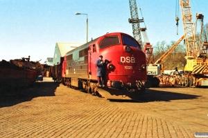 DSB MX 1025. Sønderborg 26.03.1991.