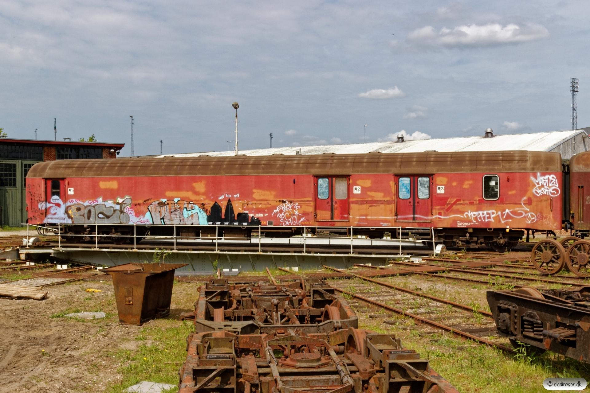 DSB P 50 86 00-83 819-9. Randers 12.05.2018.