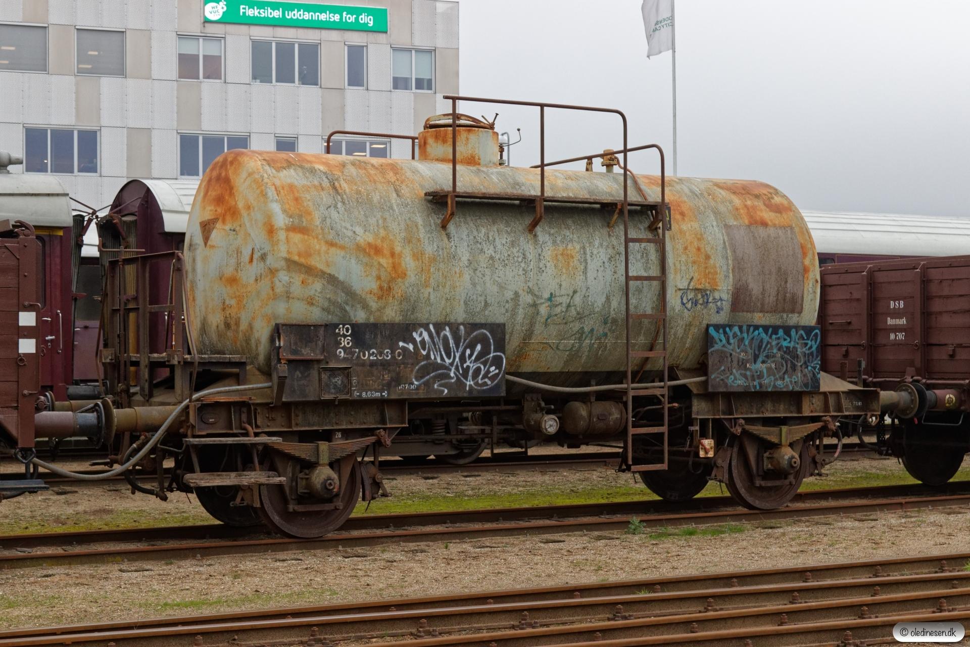 DSB 40 86 947 0 208-0 (ex. ZE 502853). Odense 25.11.2019.