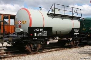 LFB Zk 617 (ex. ZE 503240). Mariager 13.08.2011.
