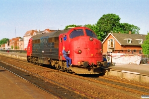 LJ M 36 - Lok fra P 1008 Nsk-Nf. Nykøbing F. 22.06.1992.