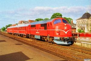 LJ M 34+P 78+P 75 som P 1008 Nsk-Nf. Nykøbing F. 23.06.1992.