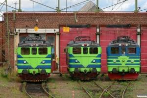 TGOJ Ma 966, Ma 963 og Ma 409. Eskilstuna 28.08.2011.