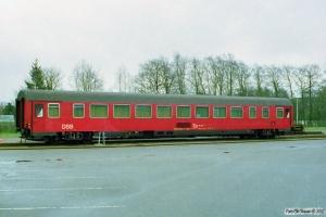 DSB Målevogn 61 86 99-90 003-0. Padborg 09.04.1998.