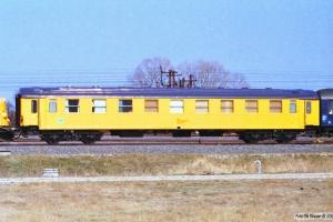 DSB Målevogn 60 86 99-69 005-3. Nyborg 16.04.1996.