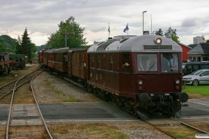 AHJ ML 5206+MFVJ D 2+TFJ C 7+SB B 11+AHB C 45+VLTJ 7+VNJ D 12+GS 41143 som Tog ? Tr-Ma. Mariager 13.08.2011.