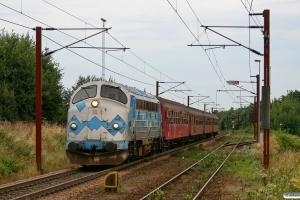 DSB MY 1126+B 064+BD 029+B 520+B 332 som VP 6331 Oj-Pa. Padborg 02.08.2009.