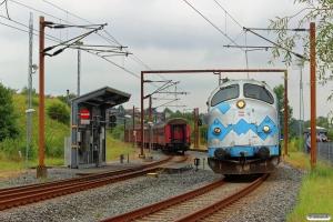 DSB MY 1126 løber om på VP 241125 Od-Sdb. Sønderborg 20.08.2016.