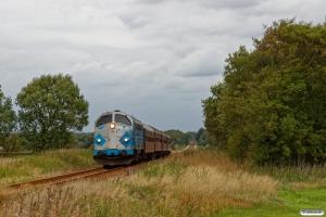DSB MY 1126+B 332+B 064+BD 029+B 520 som VP 6618 Sj-Es. Km 95,6 Lk (Gårde-Ølgod) 18.08.2018.