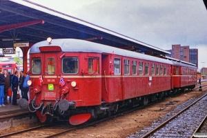 NSB BM 86 F 28+BDFS 86 76 som P 8450 Ab-Re. Odense 05.06.1989.