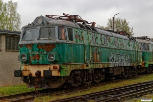 PKPC ET22-216 hensat. Poznań Franowo 12.04.2017.