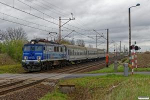 PKPIC EP07-422 med TLK 57102. Poznań Junikowo - Palędzie 13.04.2017.
