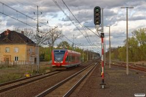 DB 946 505-4+646 005-8+946 005-5 som R 5836. Kunowice 13.04.2017.