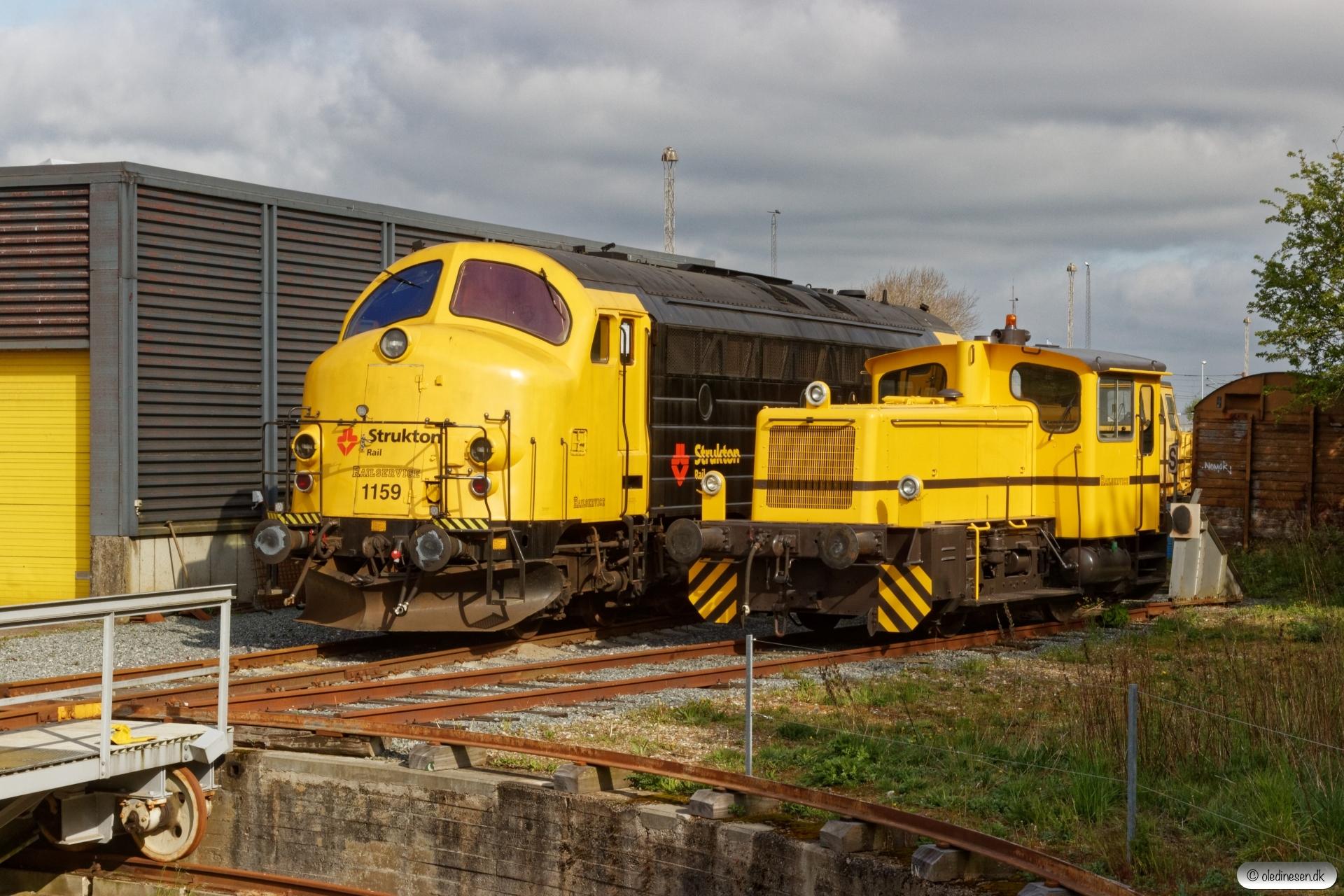 RSEJ MY 1159 og T 52. Padborg 03.05.2020.