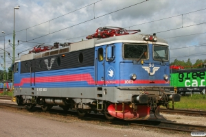 SJ Rc3 1063. Hallsberg 06.06.2012.