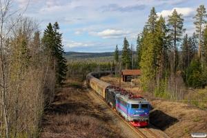 HCTOR 143.064+143.039 med GT 40727. Backsjön - Selsjön 03.05.2016.