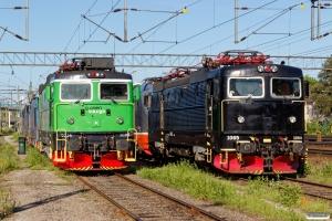 BRLL Rc3 1065 og GC Rd2 1034. Hallsberg 17.06.2017.