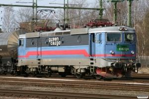 GC Rc4 1140 med GT 6604. Kristinehamn 16.04.2009.