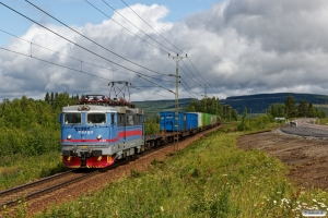 GC Rc4 1148 med GT 5015. Långsele - Helgum 19.06.2018.