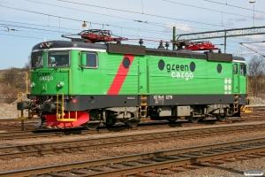 GC Rc4 1278. Göteborg Skandiahamnen 17.04.2009.