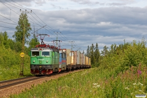 GC Rc4 1316+Rc4 1166 med GT 42300. Helgum - Långsele 20.06.2018.