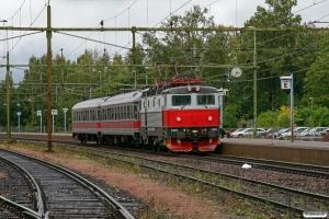 TÅGAB Rc6 1323 med RST 18124. Degerfors 14.09.2010.