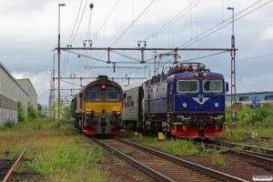 SJ Rc6 1340 med RST 329 og CFLS T66K 714. Värnamo 14.06.2013.