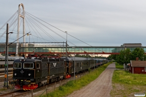 SJ Rc6 1403. Hallsberg 17.06.2017.
