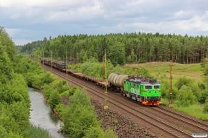 GC Rd2 1095 med GT 5317. Tunneby - Osby 14.06.2013.