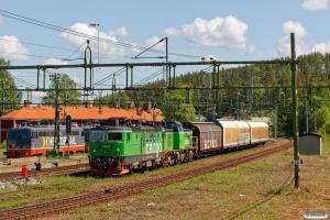 GC Rd2 1099+Td 393 med GT 5015. Långsele 14.06.2017.