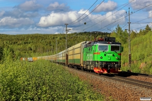 GC Rd2 1112 med GT 4051. Dysjön - Moradal 11.06.2015.