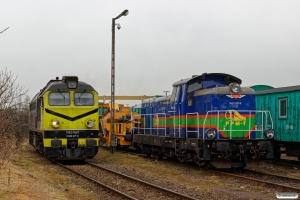 PPMT M62-1681 og SM42-2122. Maksymilianowo 03.04.2018.